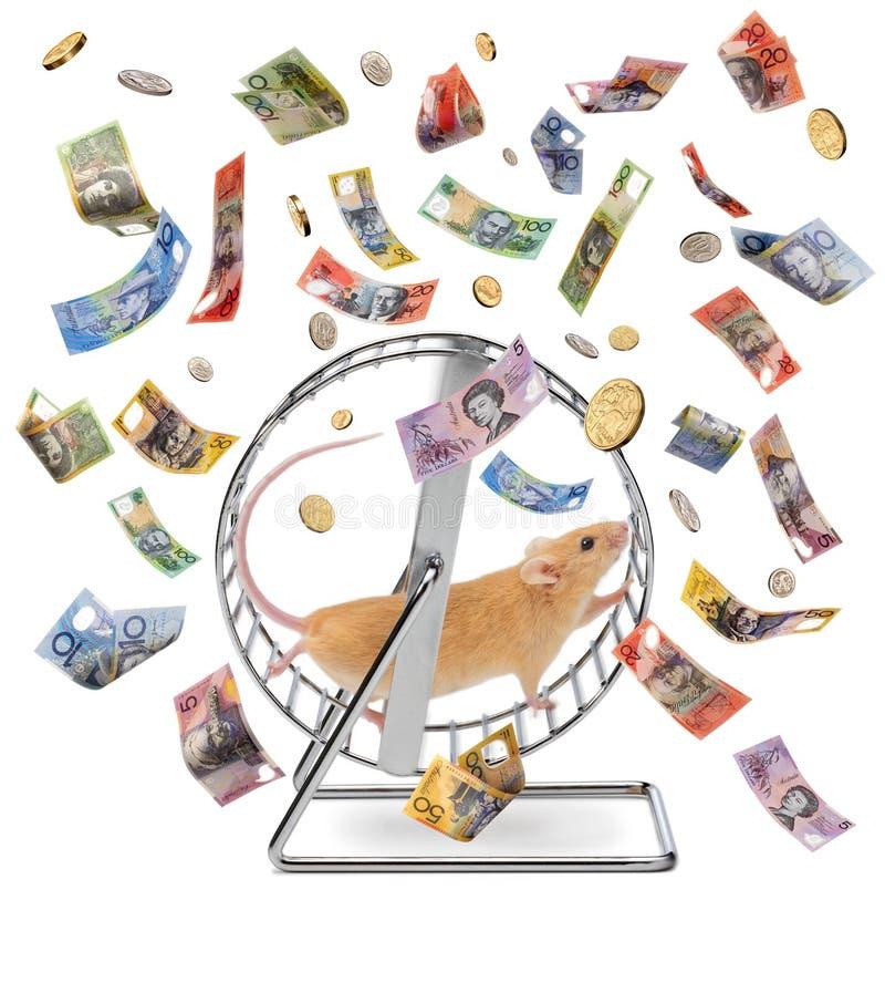 Waste Time Money Superannuation Work Life Economy Gig royalty free stock images