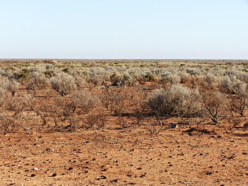 Australian Outback. The middle desert of the Australian Outback stock photography