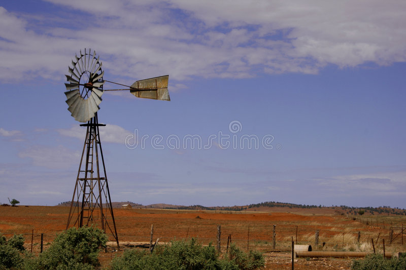 Download Australian Outback stock image. Image of grass, pump, scenic - 8584533