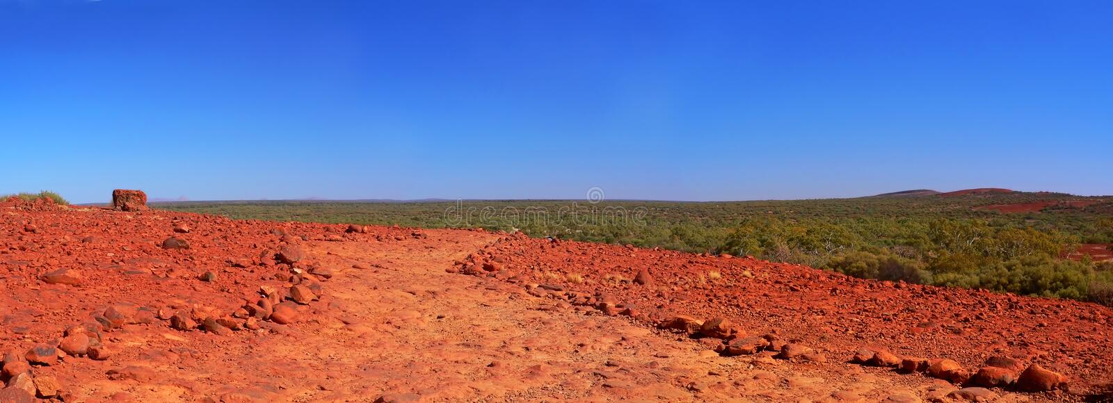 Australian Outback, Viewed From Kata Tjuta Royalty Free Stock Images