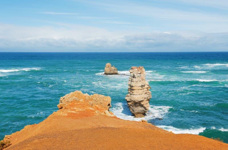 Australian rocks royalty free stock photography
