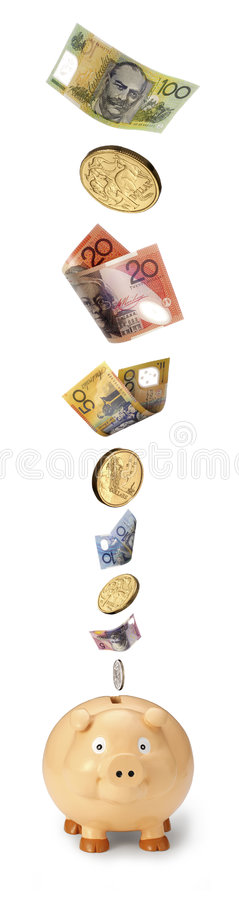 Download Australian Save Piggy Bank Money Stock Photo - Image: 6140378