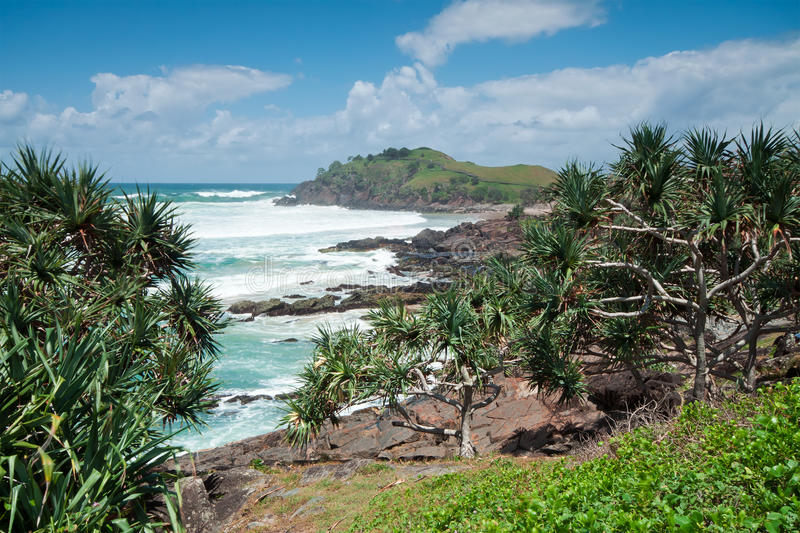 Australian seascape during the day royalty free stock photos