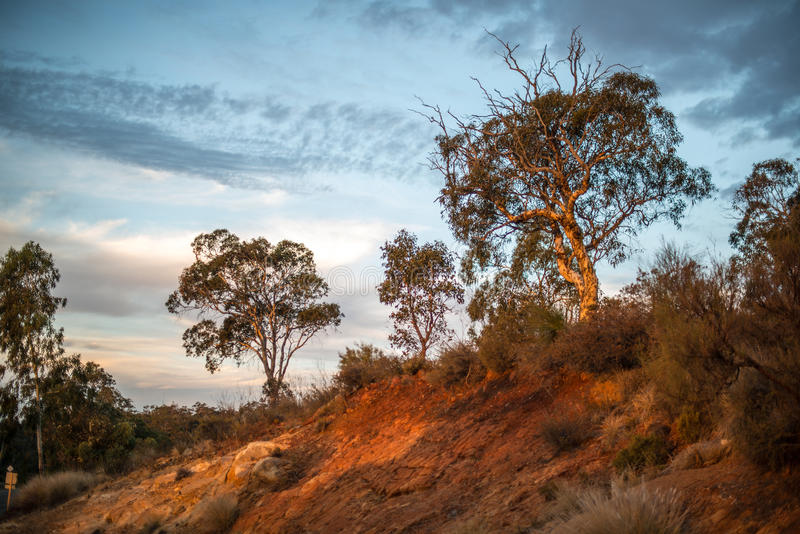 Download Australian Sunset Over Redhill Stock Photo - Image of clouds, darling: 68534038