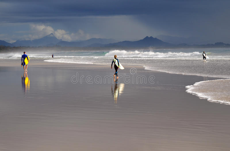 Download Australian surfers stock photo. Image of pacific, beach - 15084240