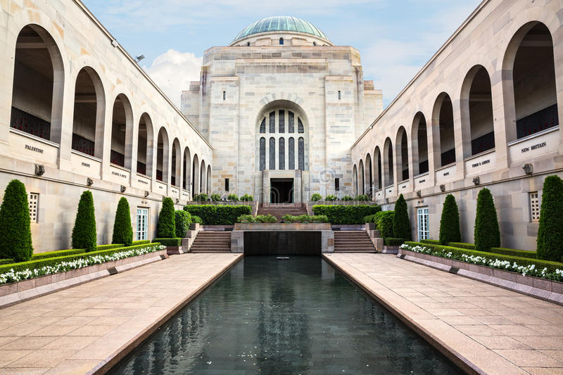 Australian War Memorial in Canberra royalty free stock images