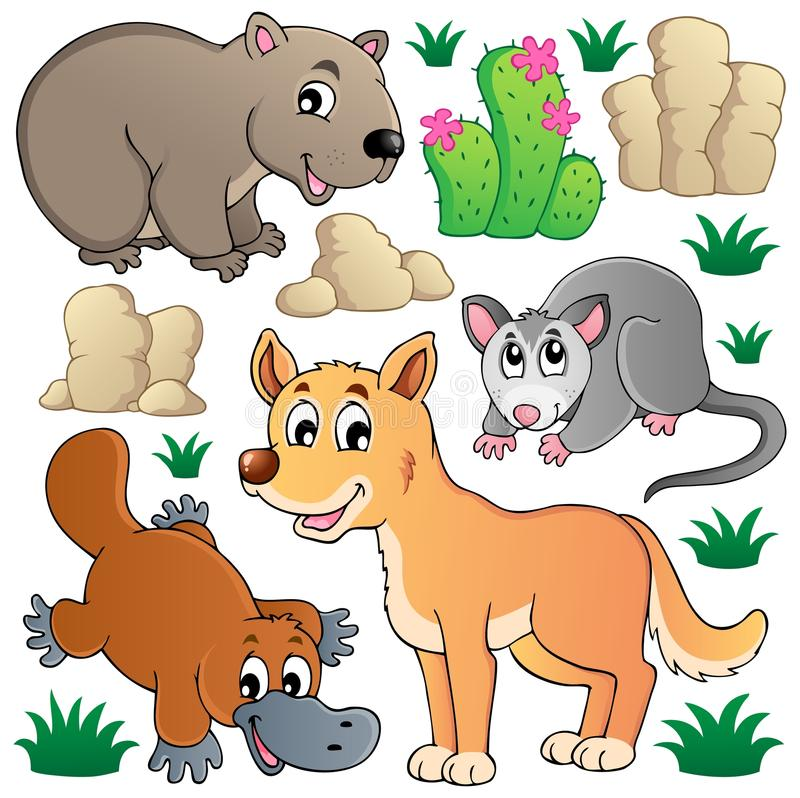 Download Australian Wildlife Fauna Set 1 Stock Vector - Illustration of canine, fauna: 27817513
