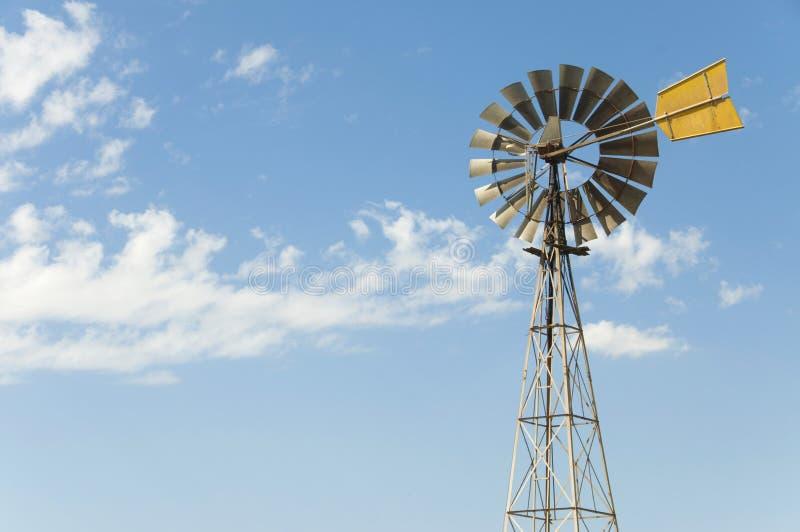 Australian Wind Mill Stock Photo
