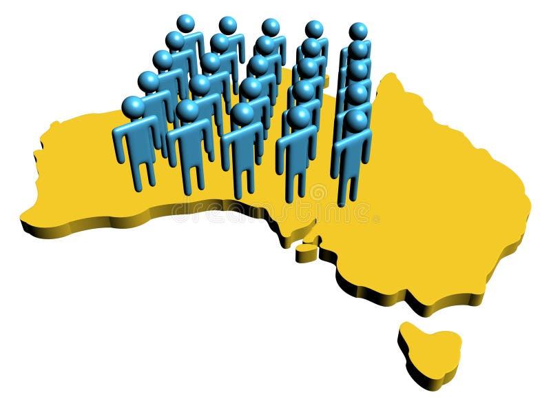 Download Australian Workforce Illustration Stock Illustration - Image: 11521669