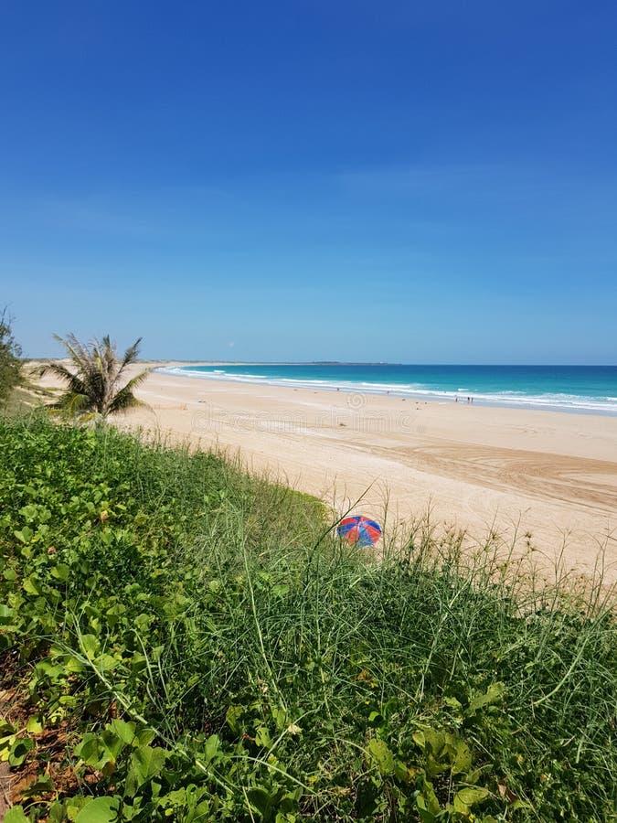 Australiano de Broome de la playa del cable interior imágenes de archivo libres de regalías