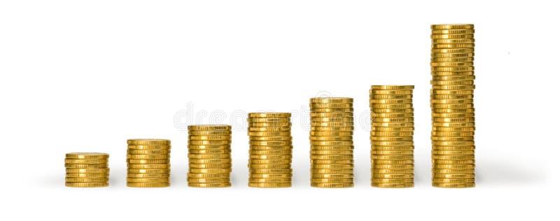 Australiano monedas de un dólar fotografía de archivo libre de regalías