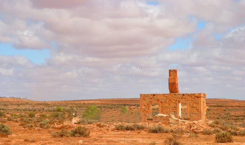 Australiano outback fotografia stock
