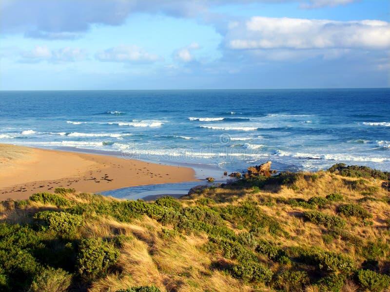 Australie d'estuaire de rivière de Hopkins photographie stock libre de droits