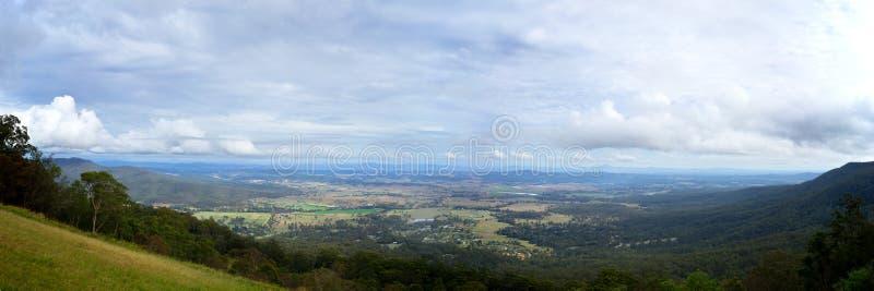 Australie de Canungra Queensland de panorama de pouce 12x36 photo libre de droits