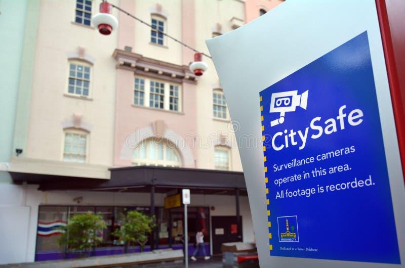 Australie de CitySafe Brisbane Queensland images stock