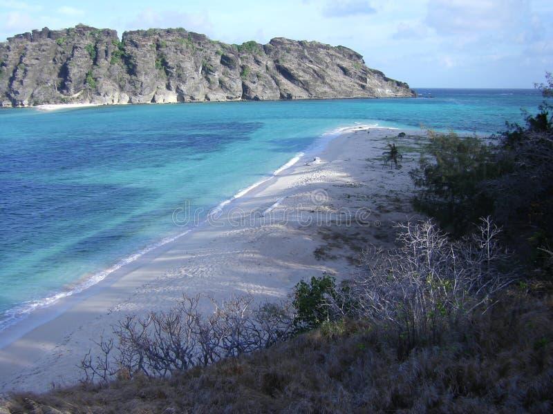 Australie de détroit de Torres d'île de Dauar images libres de droits