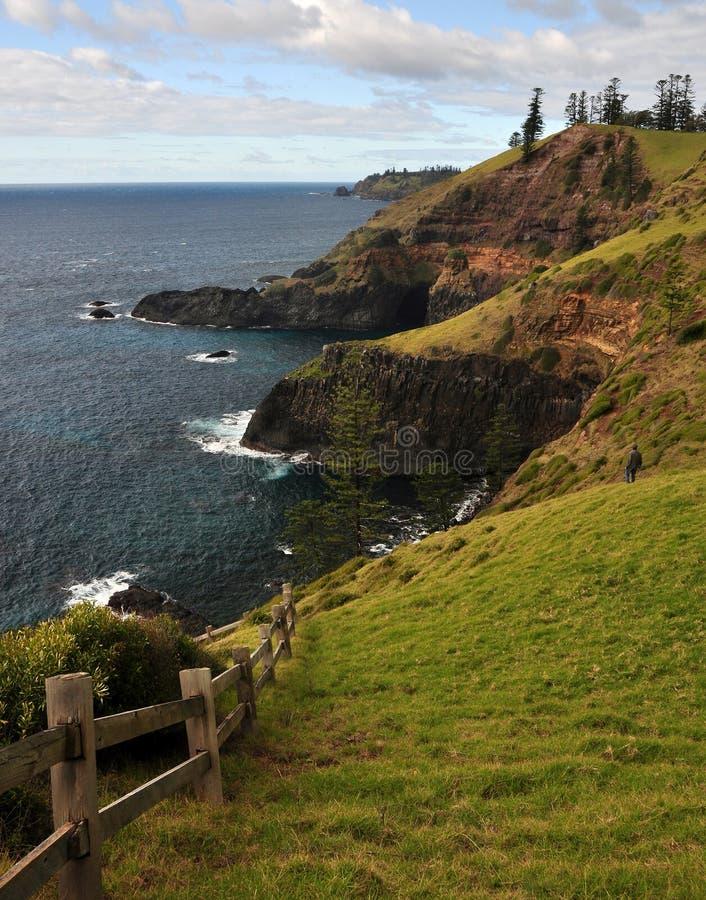 Australie de l'Île Norfolk image stock