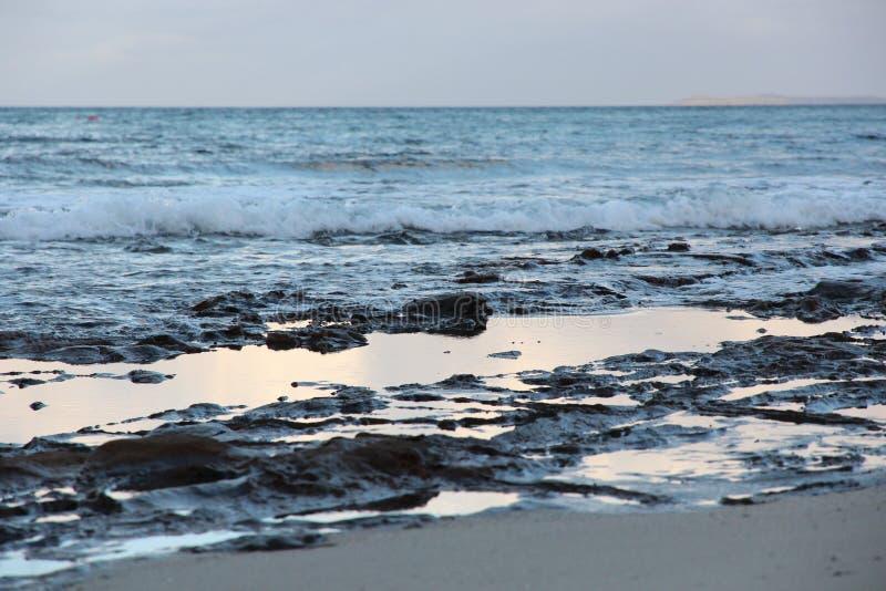 Australie de plage de Jervis Bay photo libre de droits