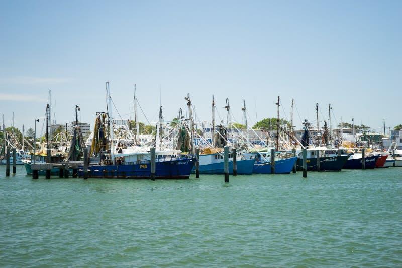 Australie de ponton de pêche photo stock