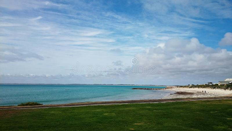 Australie de robe longue de vue d'océan @ photographie stock