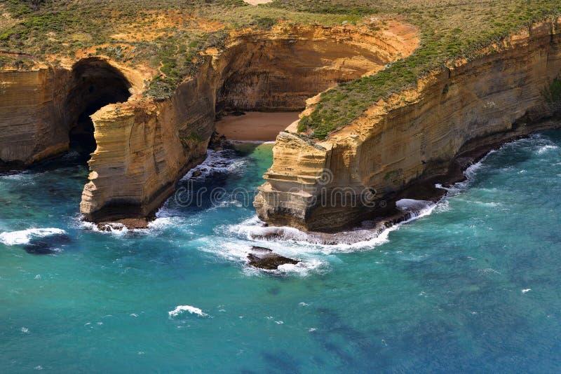 Australie, grande océan route de VIC, image stock