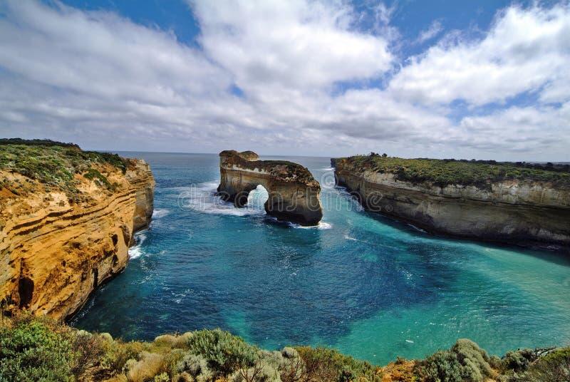 Download Australie - Grande Route D'océan Photo stock - Image du tasman, attraction: 76081582