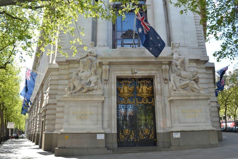 Australie Londres de Haute Commission photographie stock