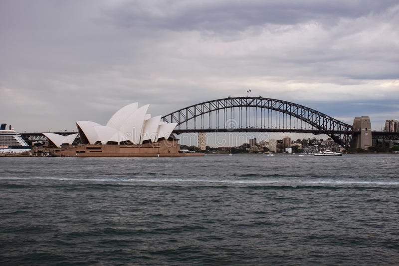 Australie Sydney Opera House Day View photo libre de droits