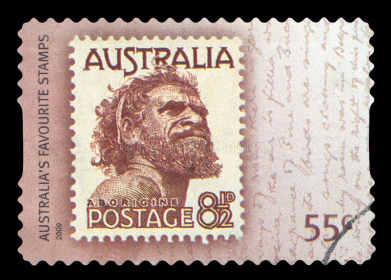 AUSTRALIE - timbre-poste photographie stock libre de droits