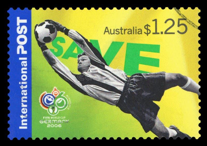 AUSTRALIE - timbre-poste image stock