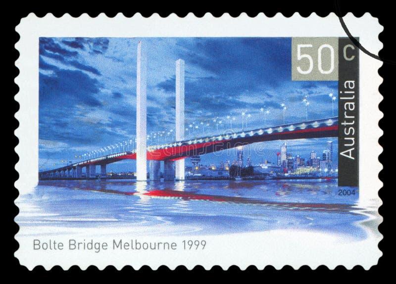 AUSTRALIE - timbre-poste photo libre de droits