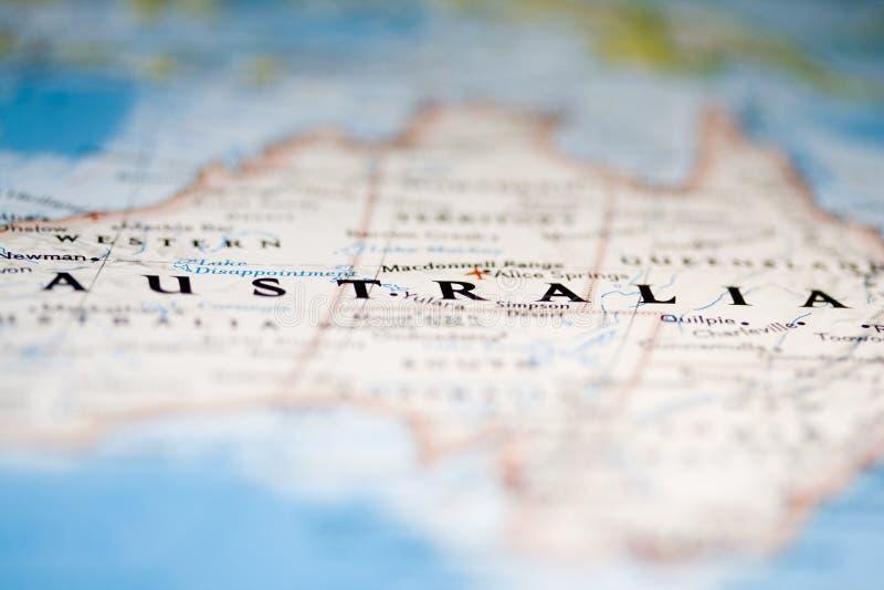 Australien översikt fotografering för bildbyråer