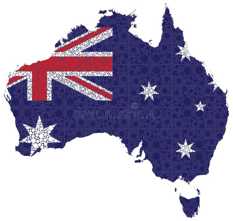 Australien vektor illustrationer