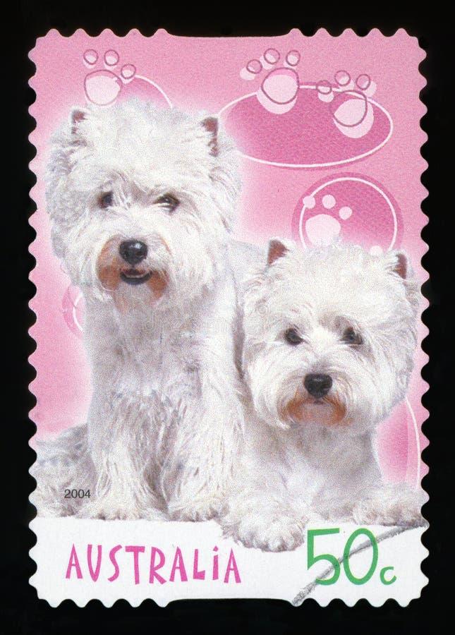 AUSTRALIEN - Briefmarke stockfotos