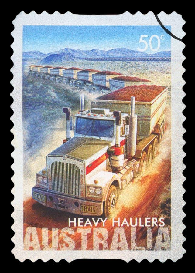 AUSTRALIEN - Briefmarke lizenzfreies stockfoto