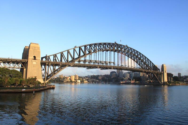 Australien brohamn sydney fotografering för bildbyråer