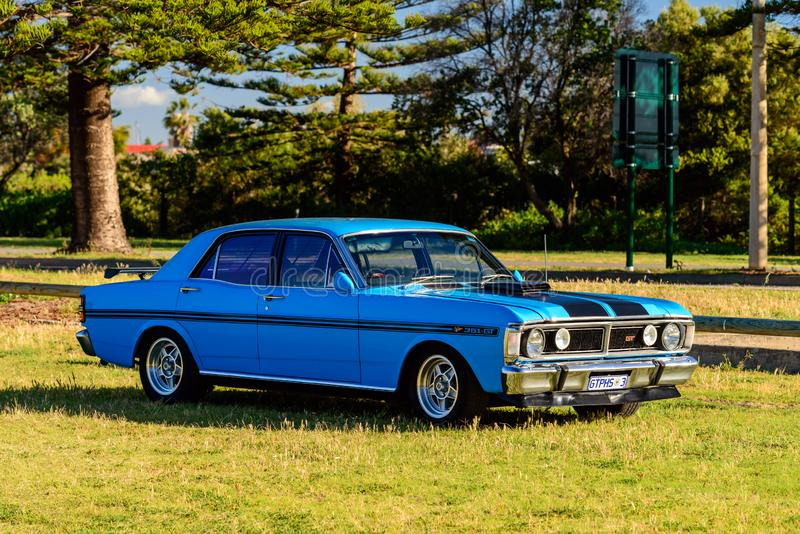 Australien Ford Falcon 351-GT photos libres de droits
