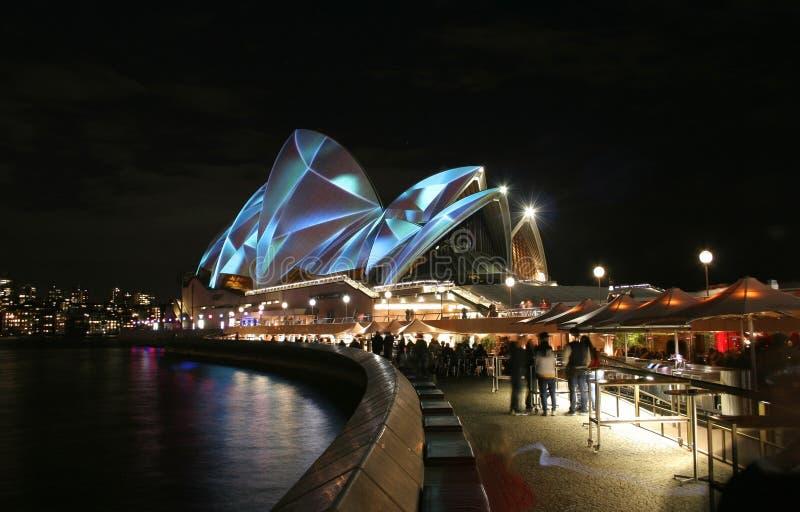 Australien husopera sydney royaltyfri foto