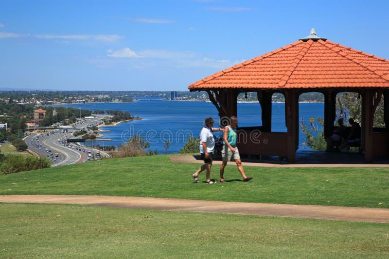 Australien konungpark västra perth s royaltyfria bilder