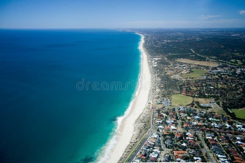Australien kustlinje västra perth royaltyfria bilder