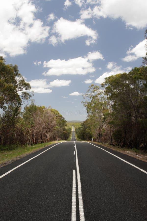 Australien landsväg arkivfoto