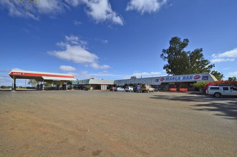 Australien, Marla, Roadhouse lizenzfreies stockfoto