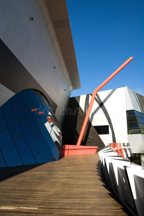 Australien museumnational arkivbild