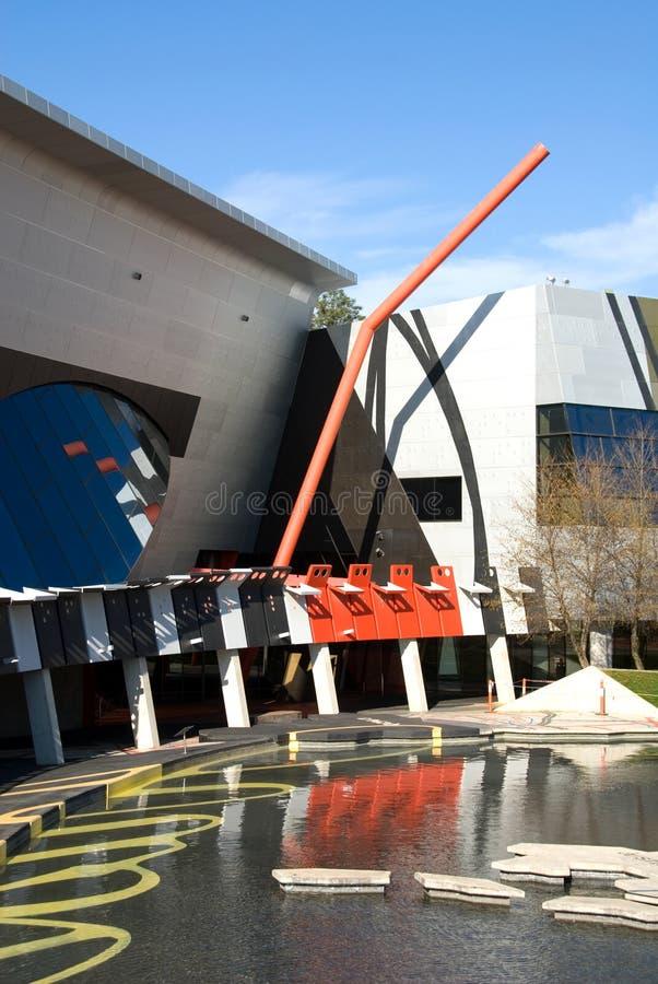 Australien museumnational fotografering för bildbyråer