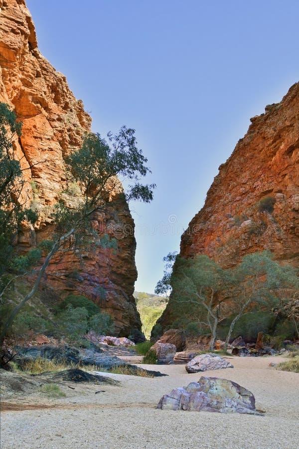 Australien nordligt territorium, vildmarklandskap royaltyfri foto