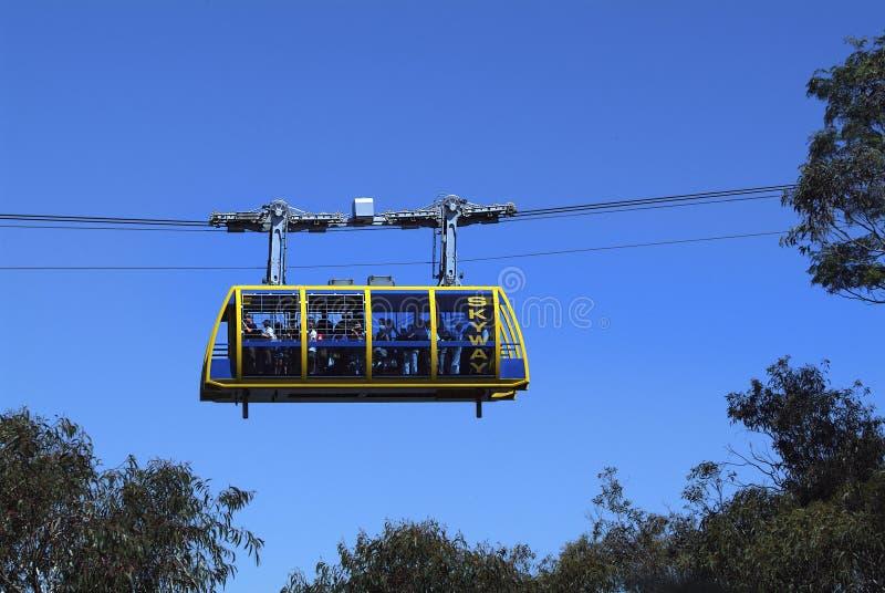 Australien NSW, blåa berg arkivfoton