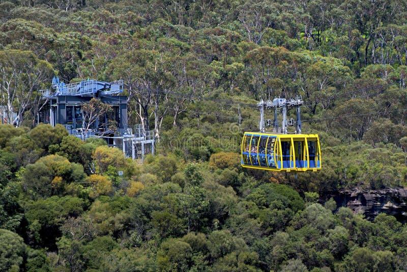 Australien NSW, blåa berg royaltyfri foto