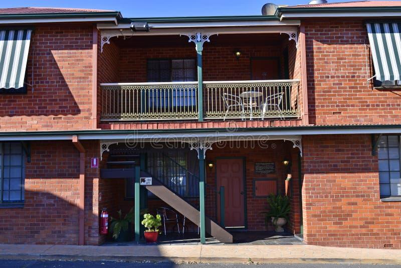 Australien, NSW, Gundagai, Hotel lizenzfreie stockfotos