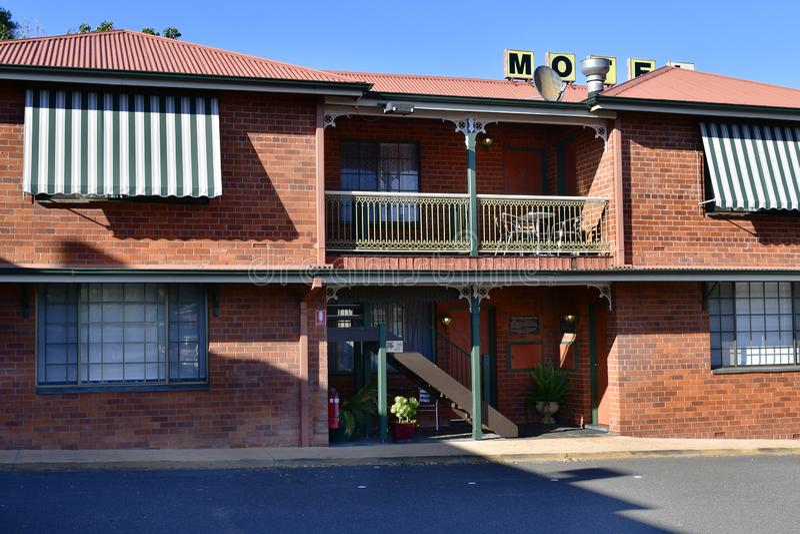 Australien, NSW, Gundagai, Hotel stockfoto