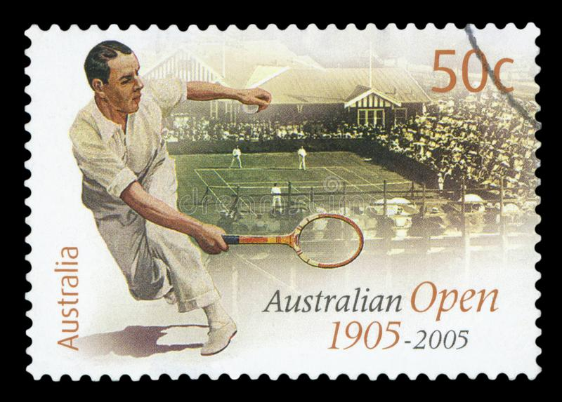 AUSTRALIEN - portostämpel royaltyfri foto